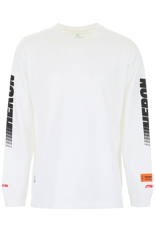 Heron Preston Logo Long Sleeved T-Shirt