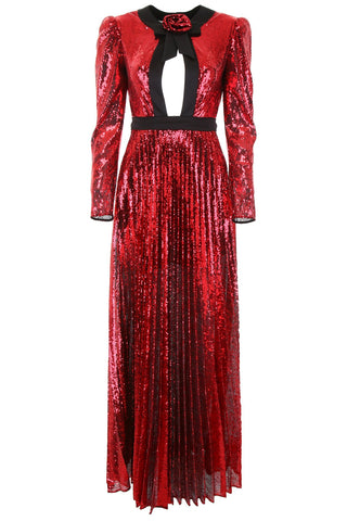 Philosophy Di Lorenzo Serafini Sequin Maxi Dress
