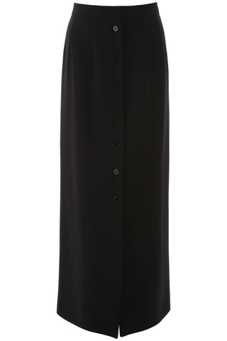 Jil Sander Button Down Detail Maxi Skirt