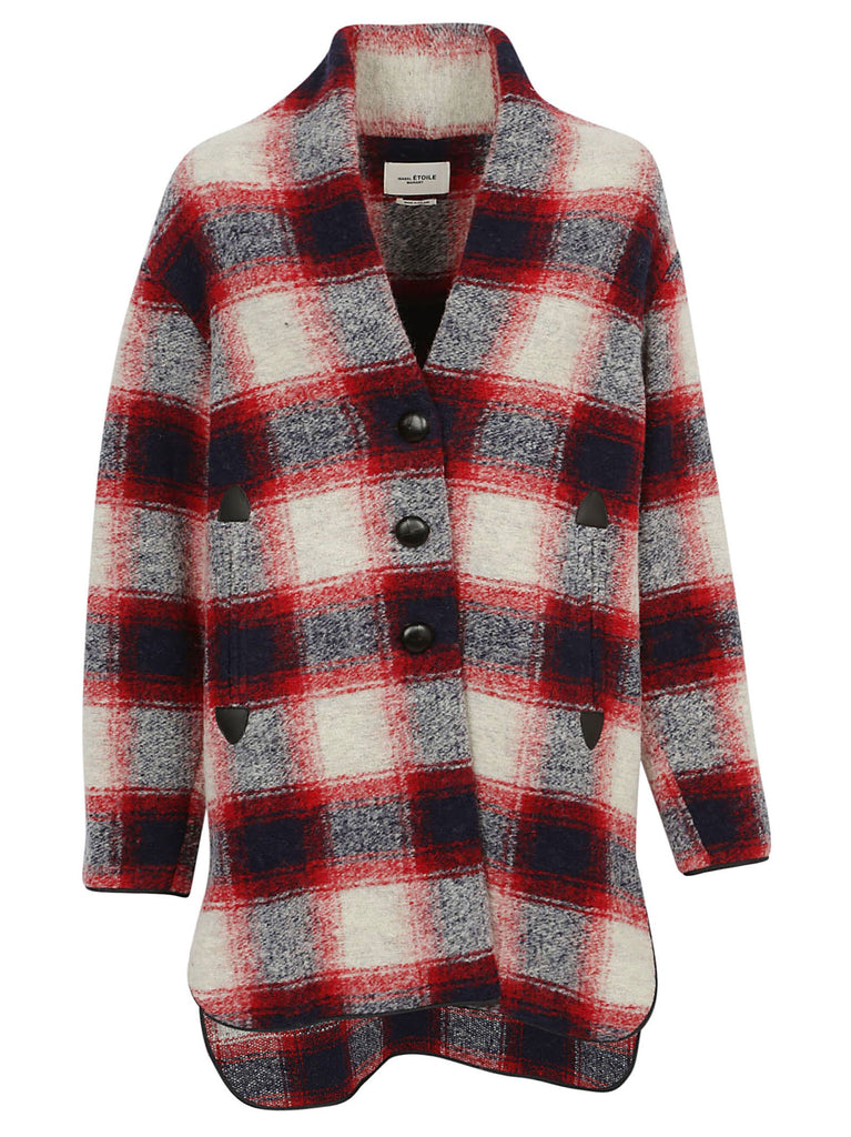 Isabel Marant Étoile Wool Check Coat