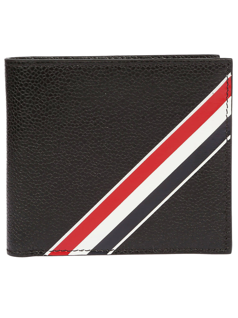 Thom Browne Stripe Bi-fold Waller
