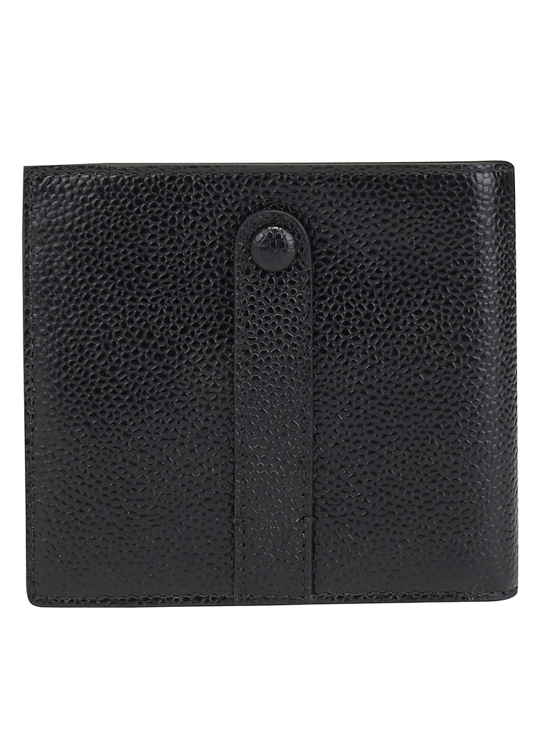 Thom Browne Snap Button Bifold Wallet