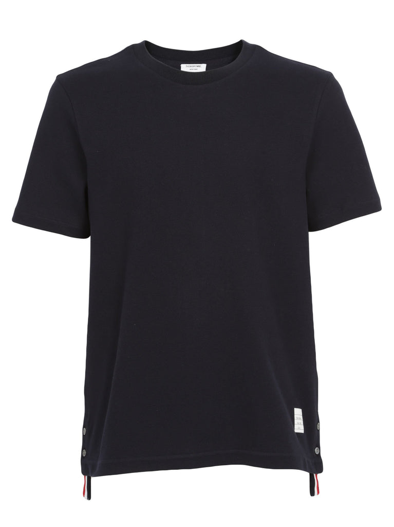 Thom Browne Relaxed Fit Pique T-Shirt