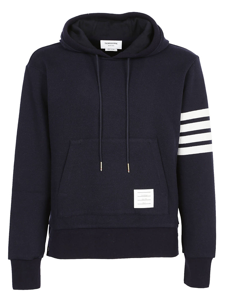 Thom Browne Striped Cashmere Hoodie