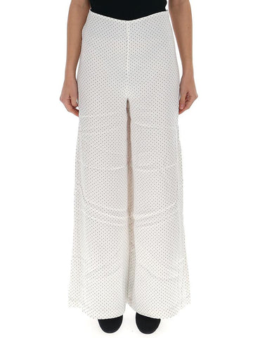 Ganni Printed Wide Leg Pants