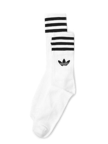 Adidas Striped Logo Socks