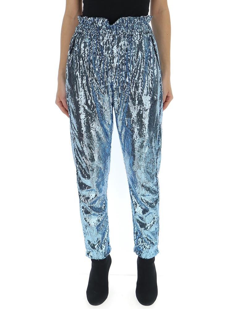 Amen High Waisted Sequin Trousers