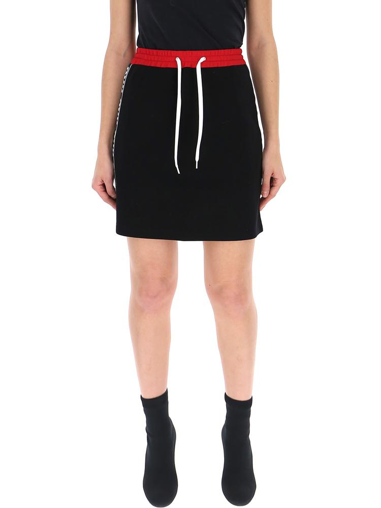 Miu Miu Side Band Jersey Skirt