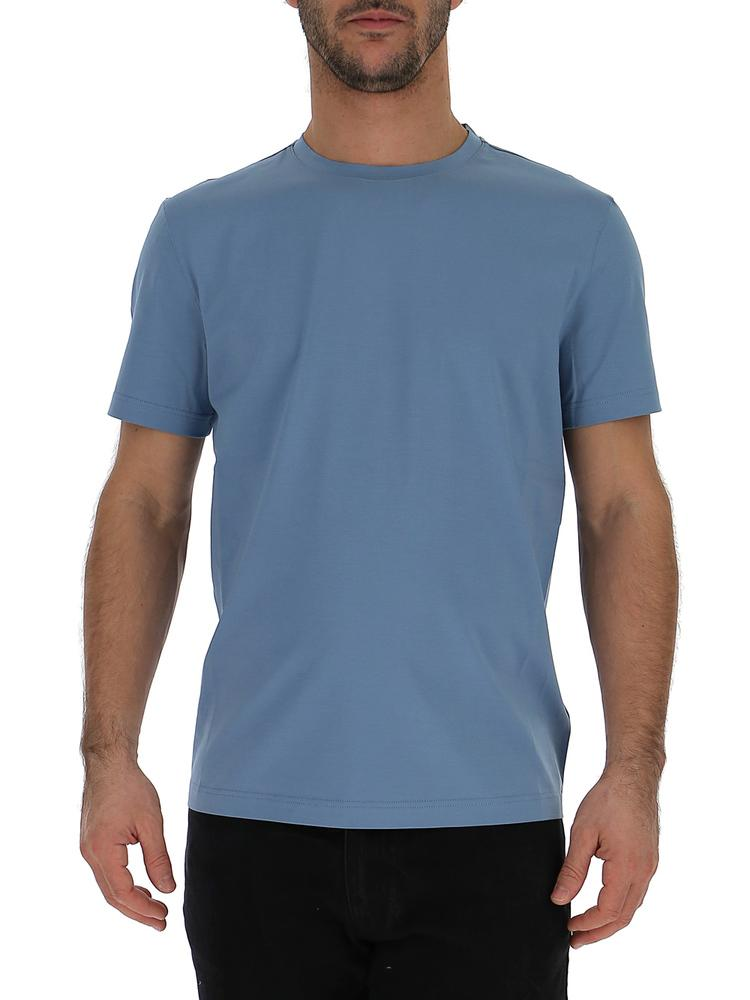 Prada Crew Neck Fitted T-Shirt