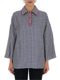Valentino Patterned Relaxed Fit Top