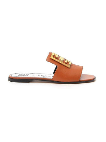 Givenchy 4G Logo Buckle Slides