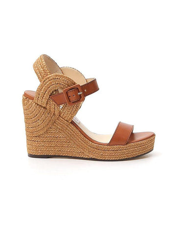 Jimmy Choo Delphi Wedge Sandals