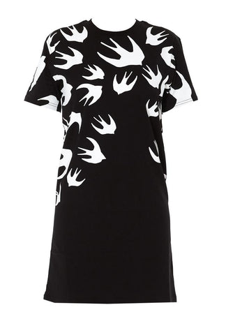McQ Alexander McQueen Swallow T-Shirt Dress