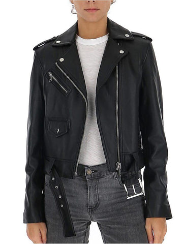 Michael Michael Kors Zippped Biker Jacket