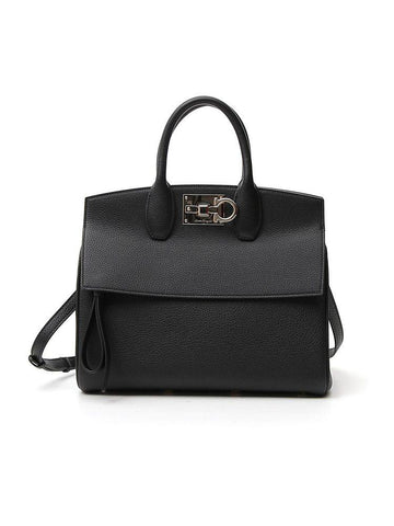 Salvatore Ferragamo Studio Front Flap Tote Bag