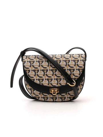 Salvatore Ferragamo Gancini Monogram Crossbody Bag