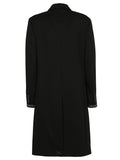 Prada Long Sleeve Midi Coat