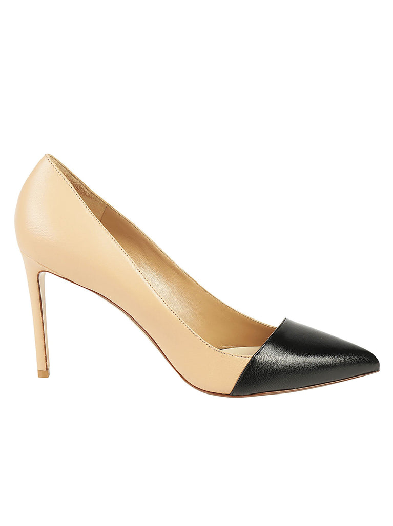 Francesco Russo Contrasting Toe Pumps