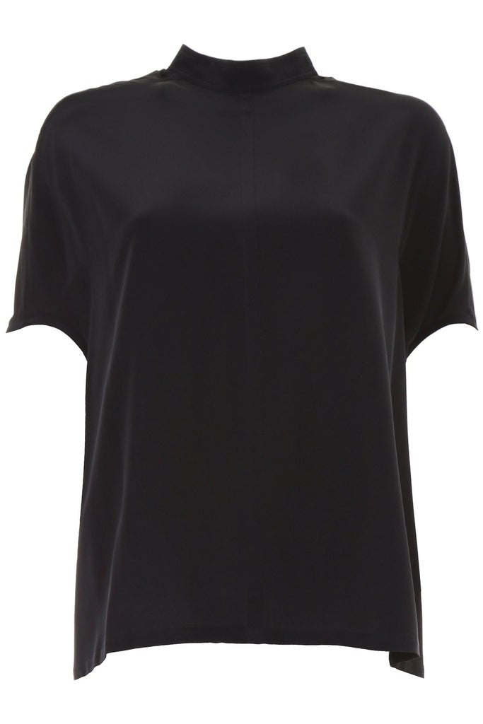 Rick Owens Oversized High Neck T-Shirt