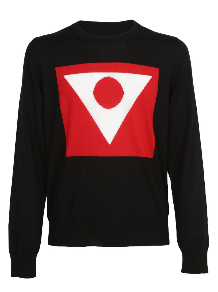 Maison Margiela Geometric Design Sweater