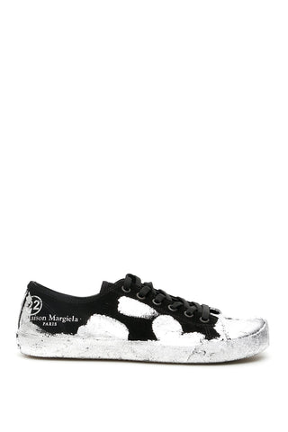 Maison Margiela Tabi Paint Splatter Effect Sneakers