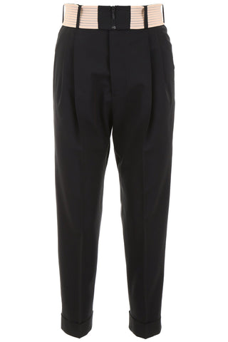 Dsquared2 High-Waisted Pleated Trousers