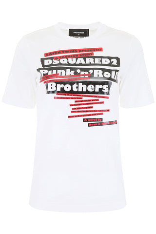 Dsquared2 Graphic Logo T-Shirt