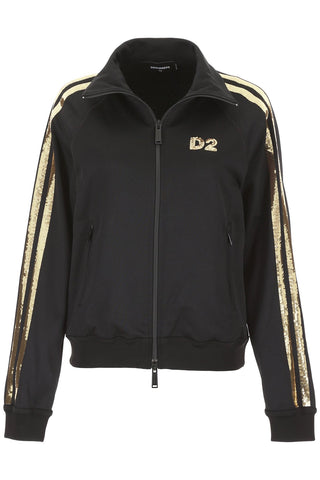 Dsquared2 Sequin Stripe Track Jacket