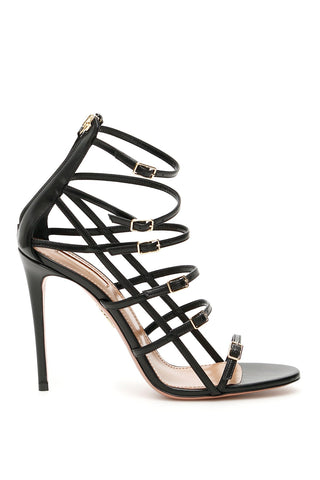 Aquazzura Super Model 105 Buckle Strapped Sandals