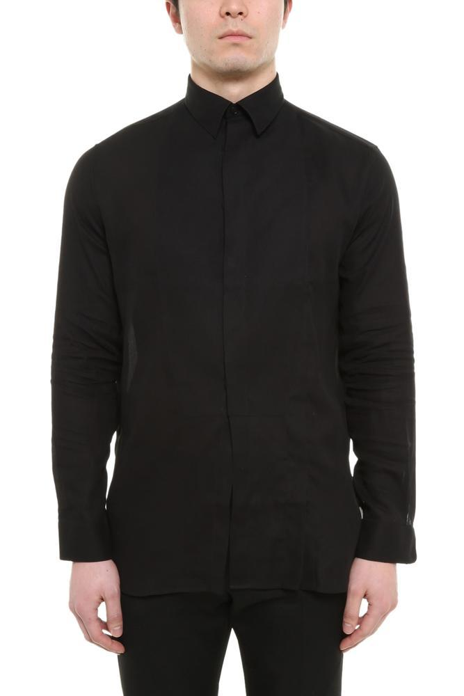 Givenchy Concealed Placket Shirt