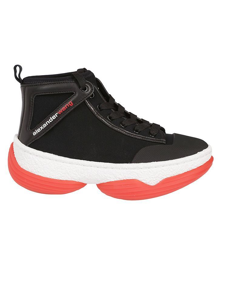 Alexander Wang Chunky Logo Lace-Up Sneakers