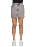 Heron Preston Distressed Mini Skirt