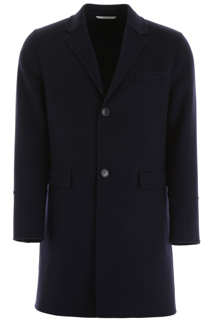 Valentino Garavani Single Breasted Coat