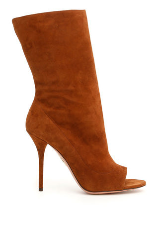 Aquazzura Open Toe Boots