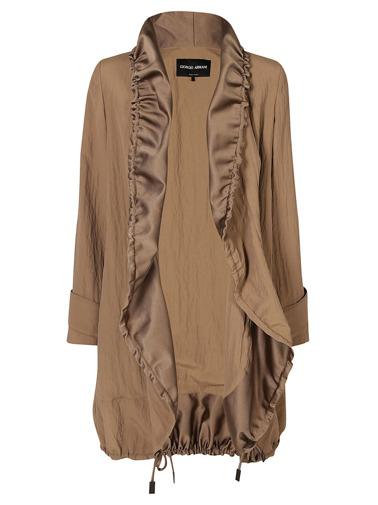 Giorgio Armani Draw String Trench Coat