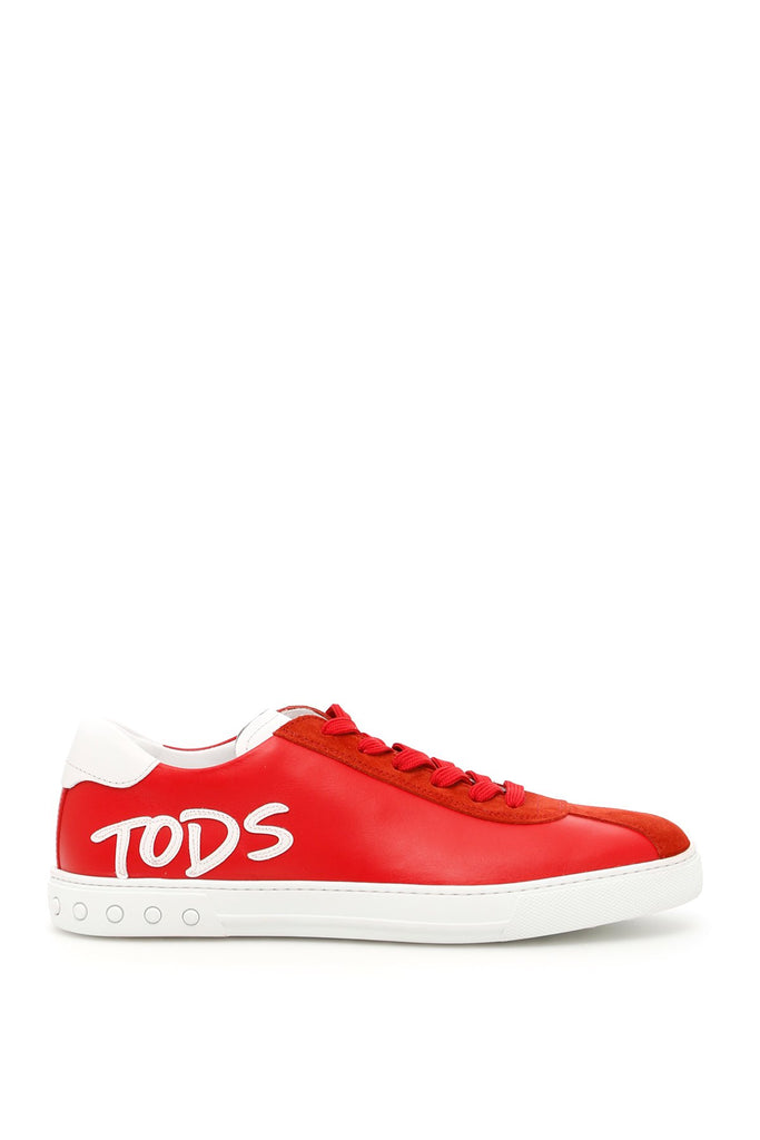 Tod's Logo Panel Sneakers