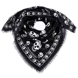 Alexander McQueen All-Over Skull Logo Scarf