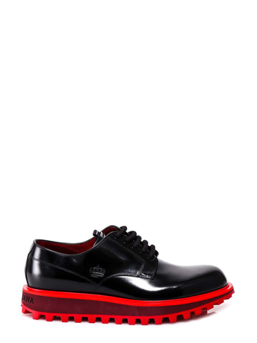 Dolce & Gabbana Logo Detail Lace-Up Shoes