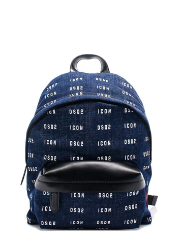 Dsquared2 All Over Logo Backpack
