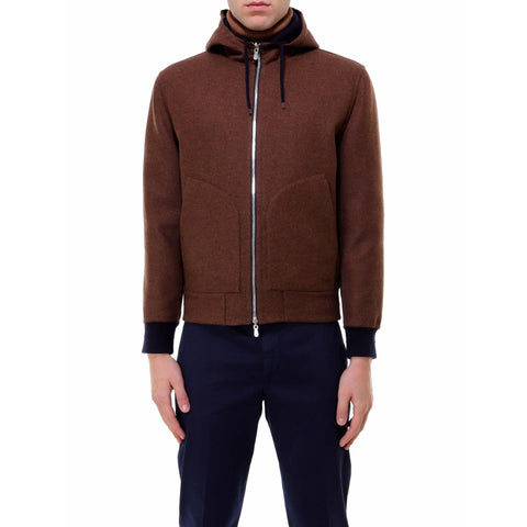 Brunello Cucinelli Reversible Hooded Jacket