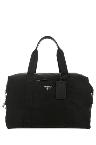 Prada Logo Travel Bag