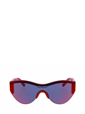 Balenciaga Eyewear Logo Bike Sunglasses