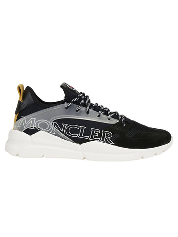 Moncler Logo Panelled Low Top Sneakers