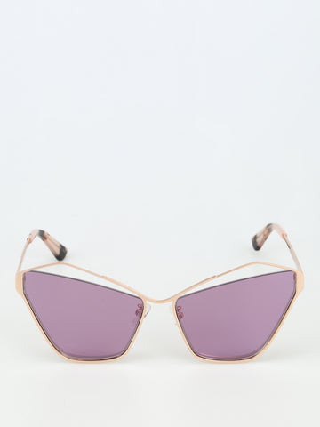 McQ Alexander McQueen Cat Eye Sculptured Sunglasses