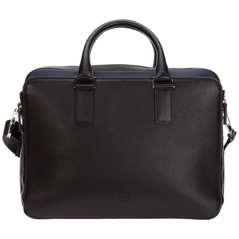 Dior Homme Two-Tone Briefcase