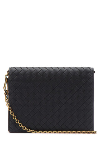 Bottega Veneta Woven Chain Crossbody Bag