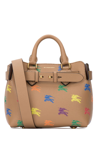 Burberry The Mini Equestrian Knight Tote Bag