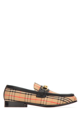 Burberry Moorley Check Loafers