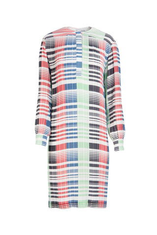 JW Anderson Micro Pleat Relax Fit Dress