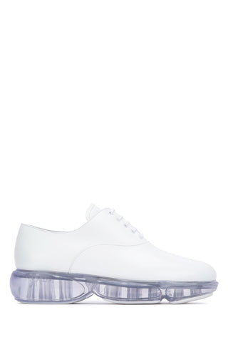 Prada Transparent Sole Lace-Up Sneakers